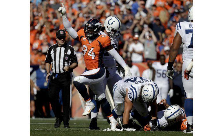Broncos: Ware estará fuera 4-5 semanas por antebrazo