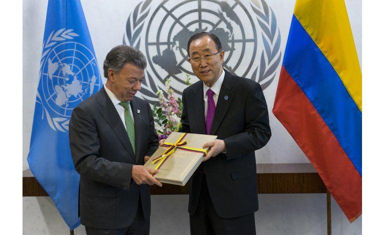 Ban Ki-Moon a Santos: Usted no desfalleció