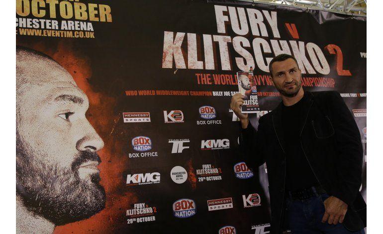 Fury hará prueba de dopaje antes de pelear con Klitschko