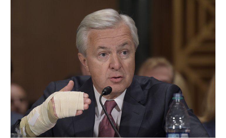 EEUU: Ejecutivo de Wells Fargo fustigado en el Senado
