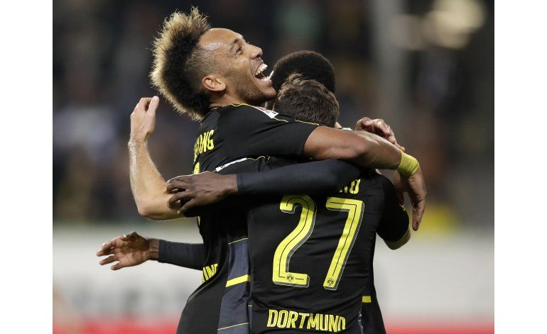 Otra goleada del Dortmund: 5-1 a Wolfsburgo