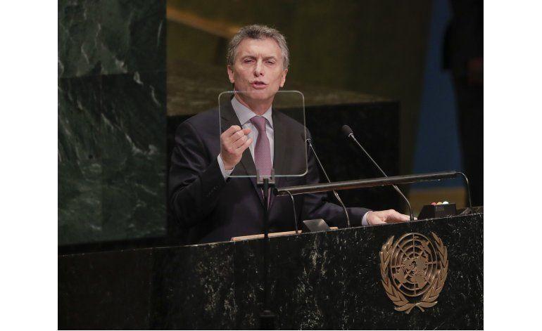 Macri confirma que Argentina recibirá refugiados