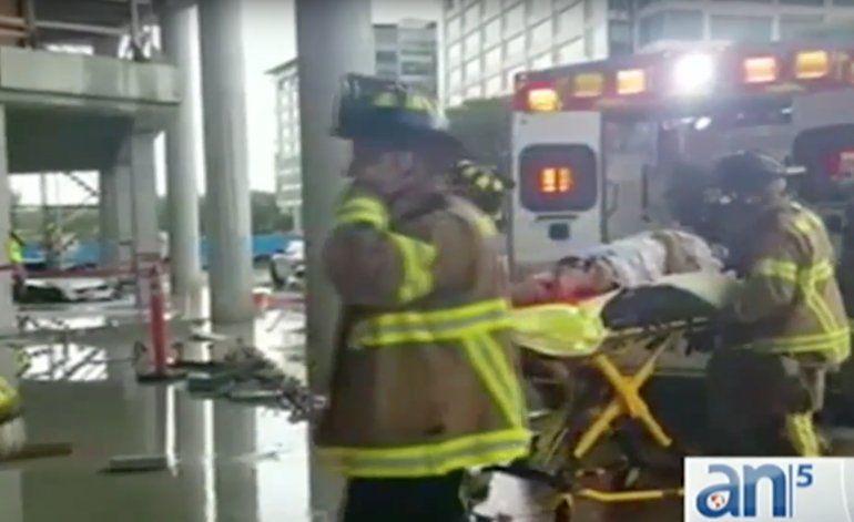 Obrero de la construcción es impactado por un rayo en el NW de Miami