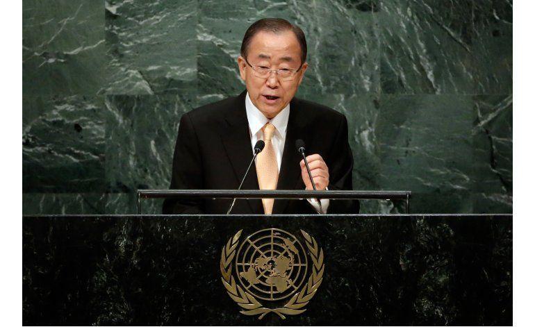 Ban Ki-moon denuncia a líderes con manos ensangrentadas