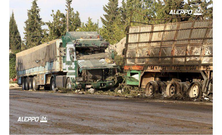 EEUU responsabiliza a Rusia de ataque a convoy  en Siria