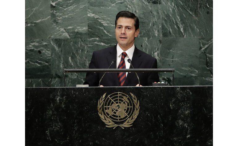 México anuncia medidas para refugiados