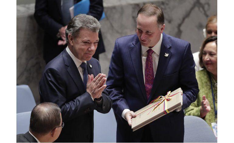 Obama: Acuerdo de paz en Colombia de proporciones históricas