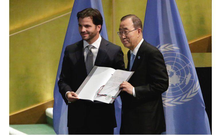 Más países ratifican pacto de París sobre cambio climático