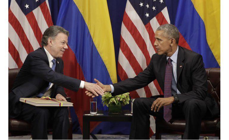 Obama: Paz en Colombia, algo de proporciones históricas