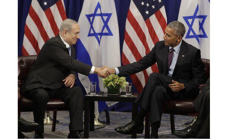 Obama y Netanyahu se reúnen por última vez como mandatarios