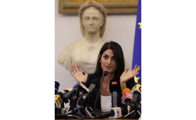 Alcaldesa de Roma rechaza candidatura para Juegos de 2024