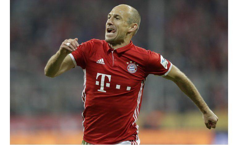 Bayern golea a Hertha y queda solo en la punta
