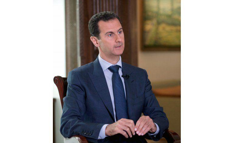 Exclusiva AP: Assad culpa a EEUU del fracaso de tregua siria