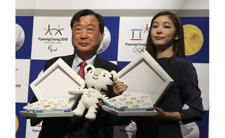 Presidente del COI inspeccionará avances en Pyeongchang
