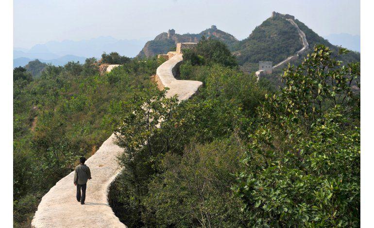 Restauración daña parte de la Gran Muralla China