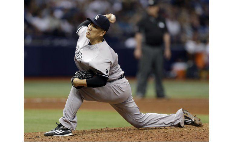 Yanquis: Tanaka se perderá próxima salida