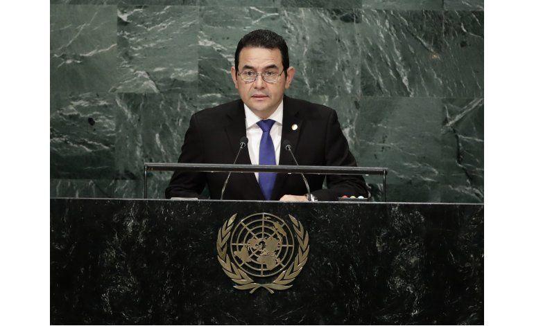 Guatemala denuncia en la ONU graves actos de Belice
