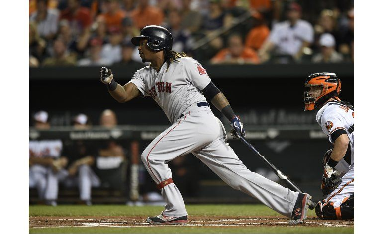 Medias Rojas barren serie de 4 juegos en Baltimore