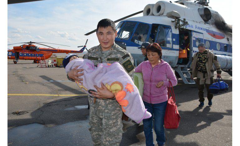Rescatan a niño perdido tres días en un bosque de Siberia