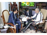 japon pide medidas contra corea del norte en visita a cuba