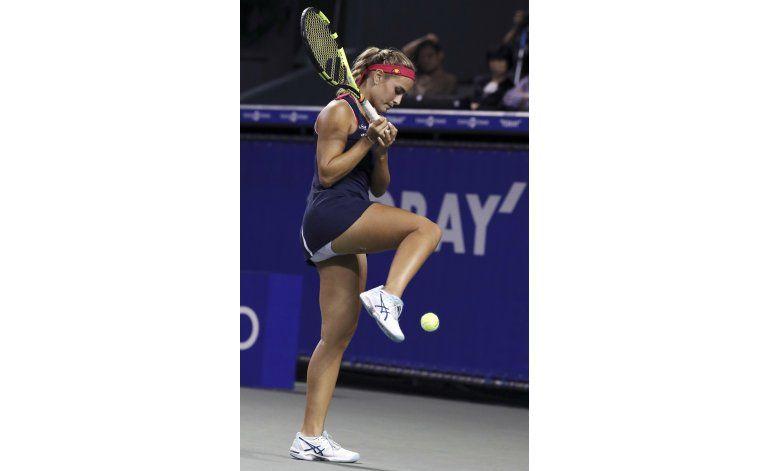 Radwanska elimina a Puig en cuartos del Abierto de Tokio