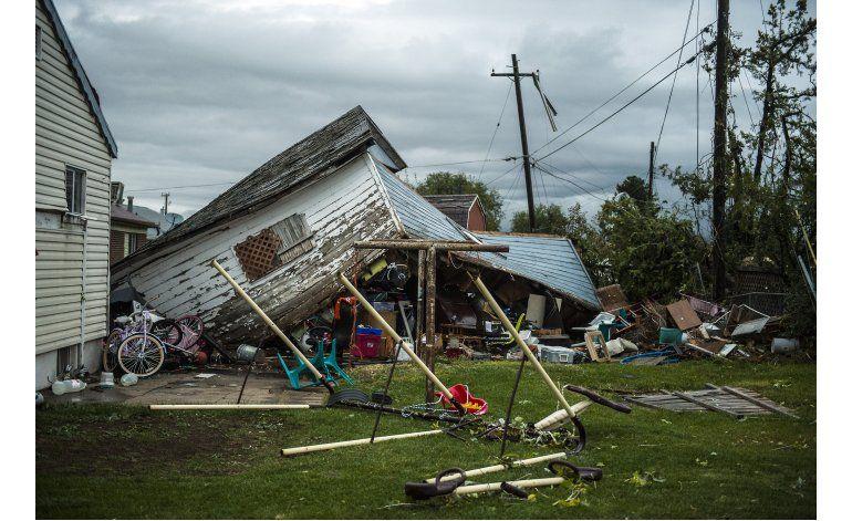 Dos tornados causan estragos en Utah
