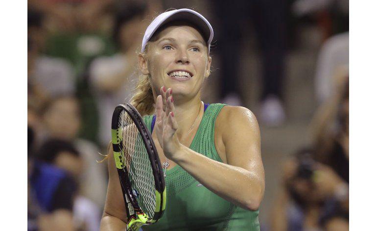 Wozniacki jugará la final en Tokio tras eliminar a Radwanska