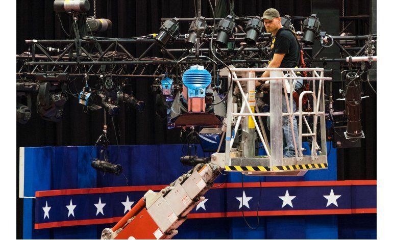 Trump y Clinton aprovecharán el debate para convencer