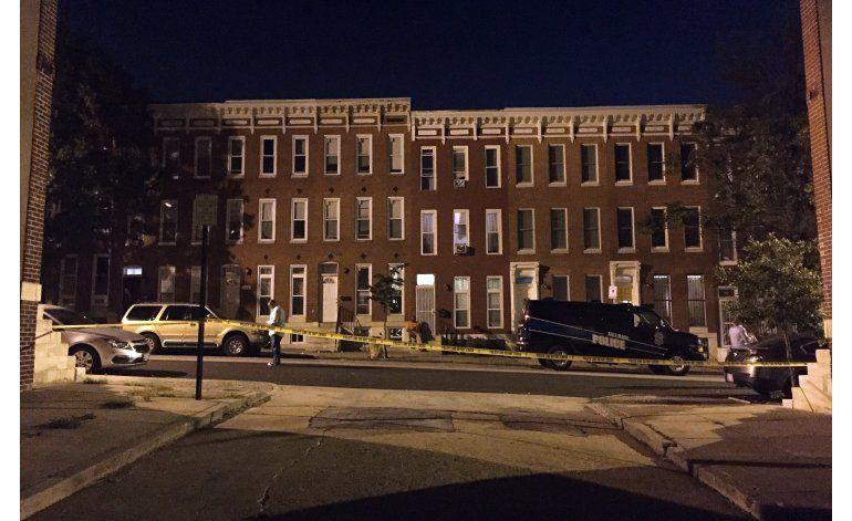 Balacera en Baltimore deja ocho heridos