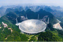 china estrena el radiotelescopio mas grande del mundo