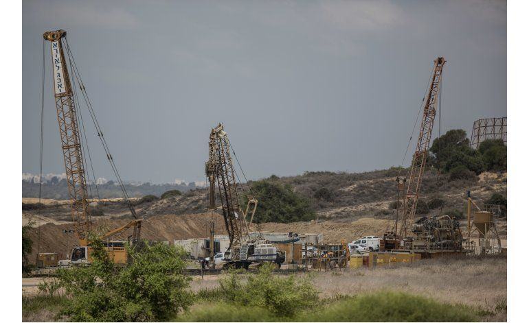Israel espera completar muro subterráneo en meses