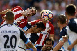 atletico gana con sufrimiento y gol de griezmann