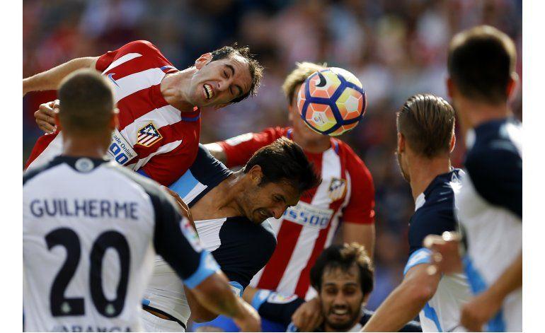 Atlético gana con sufrimiento y gol de Griezmann