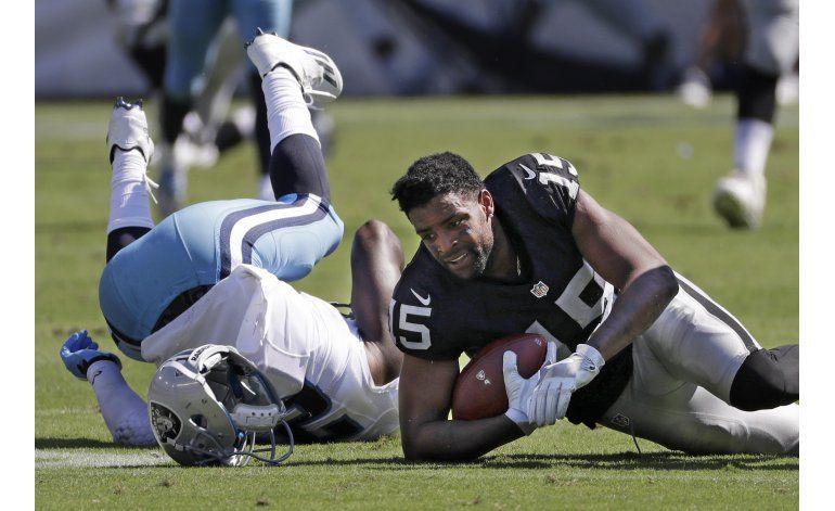 Defensiva de Raiders luce, en triunfo sobre Titans