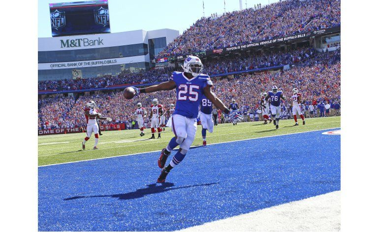 Bills repuntan con triunfo sobre Cardinals