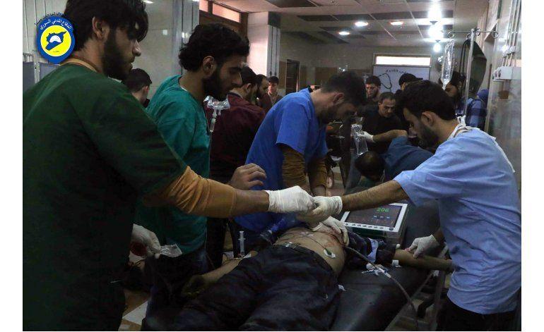 Ataques aéreos sirios contra Alepo dejan 26 civiles muertos
