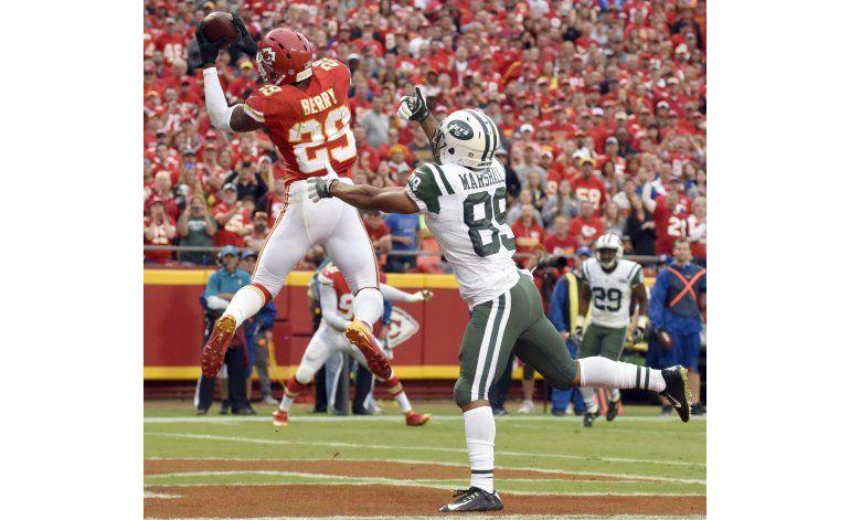 Defensiva de Chiefs toma el control en victoria sobre Jets