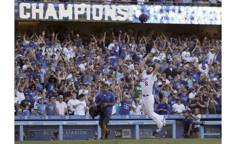 Dodgers conquistan el banderín divisional