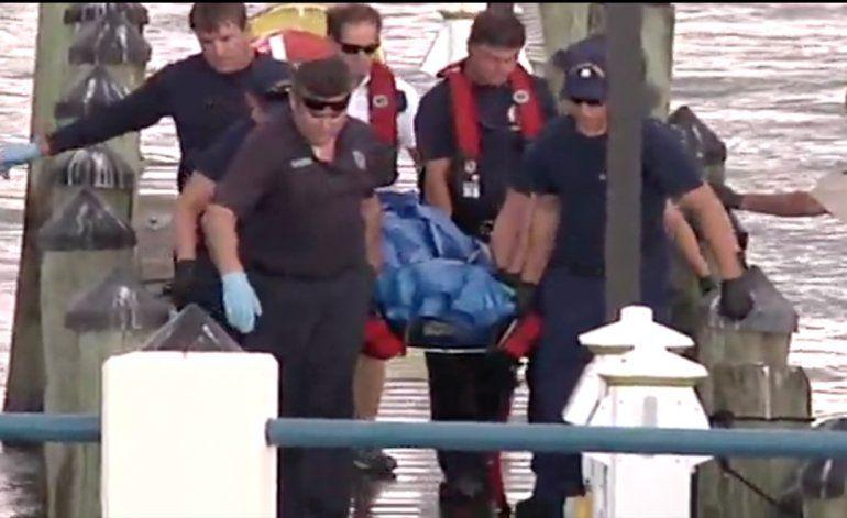Así rescataron el cuerpo de José Fernández y sus dos amigos