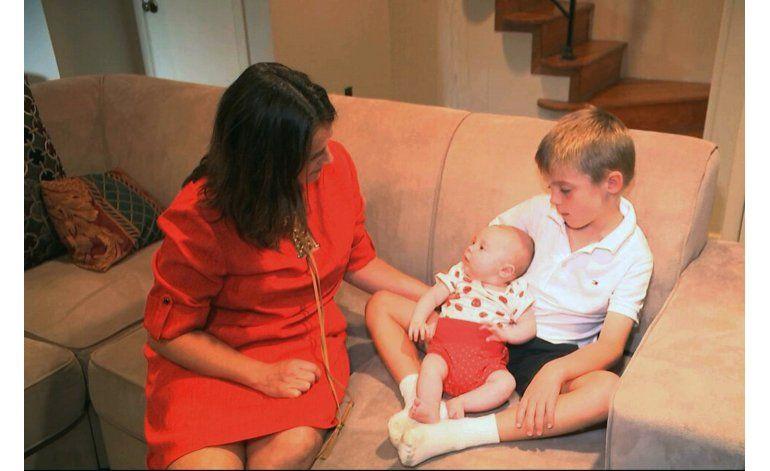 Madre descubre el impacto del órgano donado de su bebé