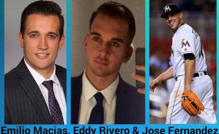 Emilio Macías y Eddy Rivero también fallecieron en el accidente de José Fernández
