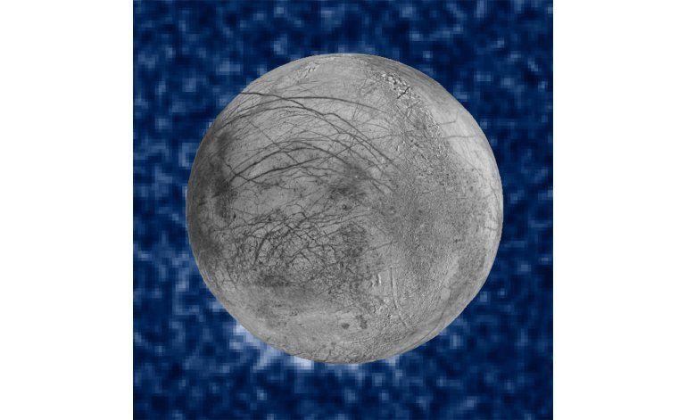 Luna de Júpiter quizá dispara nubes de vapor de agua