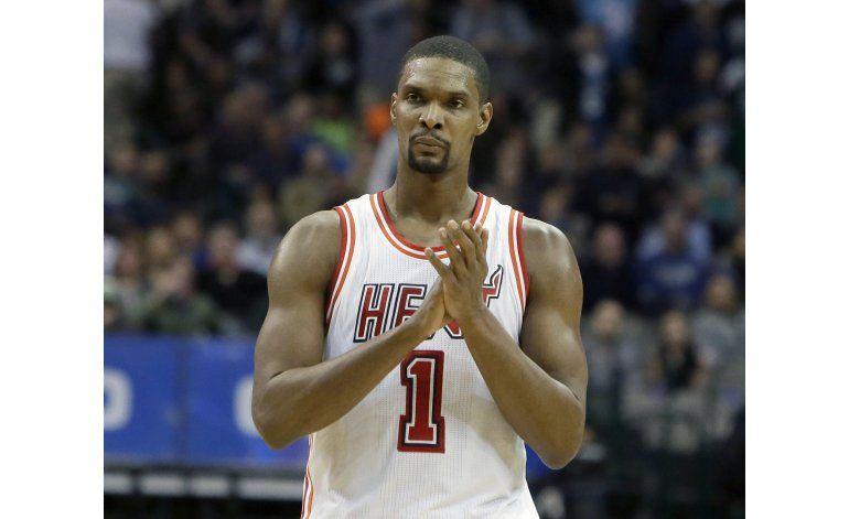 Riley pone en duda futuro de Chris Bosh con el Heat