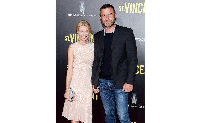 Liev Schreiber y Naomi Watts se separan después de 11 años