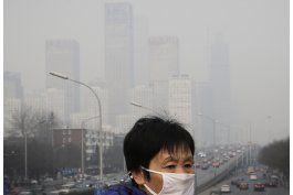oms: exceso de contaminacion aerea afecta al 92% de la gente