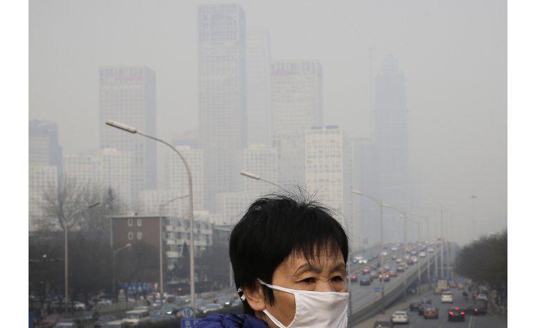 OMS: exceso de contaminación aérea afecta al 92% de la gente