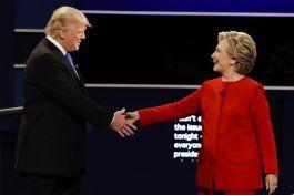 lo ultimo: trump niega que estaba resfriado durante debate