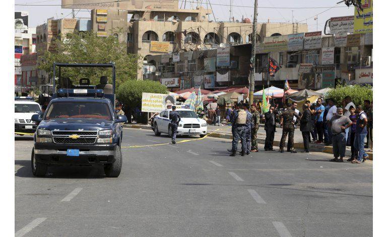 Ataques suicidas matan a al menos 17 en Bagdad