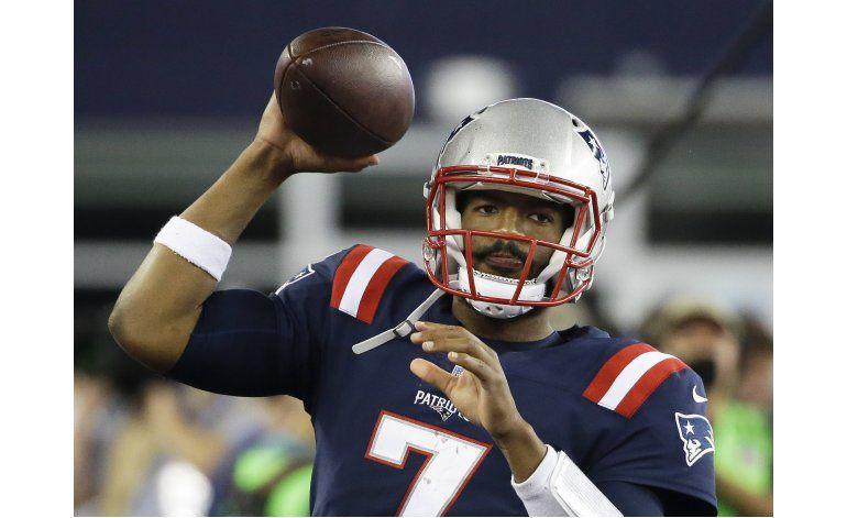 Garoppolo, Brissett vuelven a prácticas de los Patriots