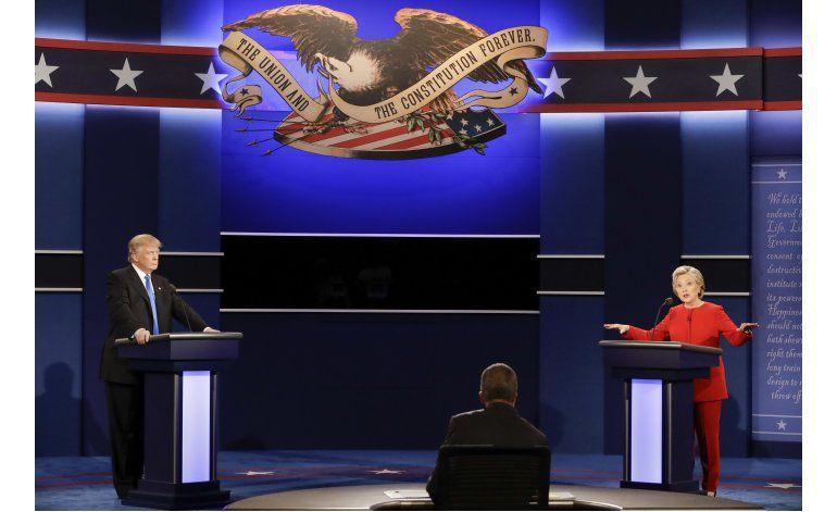 Debate Clinton-Trump sería el más visto en historia de EEUU